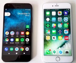 Google Pixel vs iPhone
