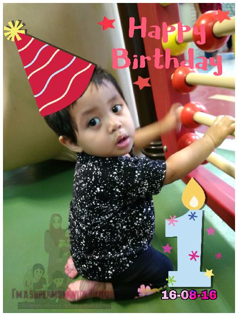 Selamat hari lahir adik Zara.