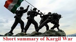 Short summary of Kargil War