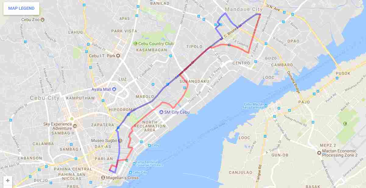 Ride a Jeepney in Cebu and its Travel Routes Code 21a odd Destination Cathedral Ibabao Estancia Map Best of Philippines 2018