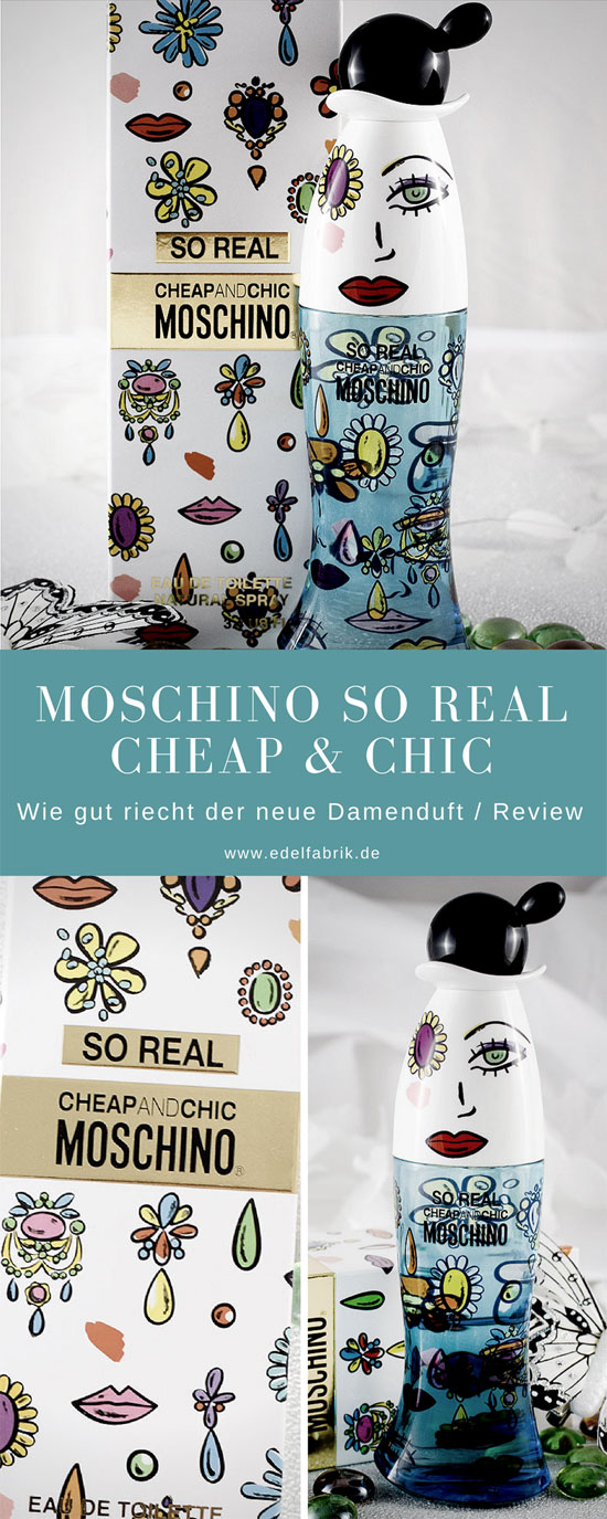 Moschino So Real Cheap & Chic, Review, wie gut riecht der neue Duft