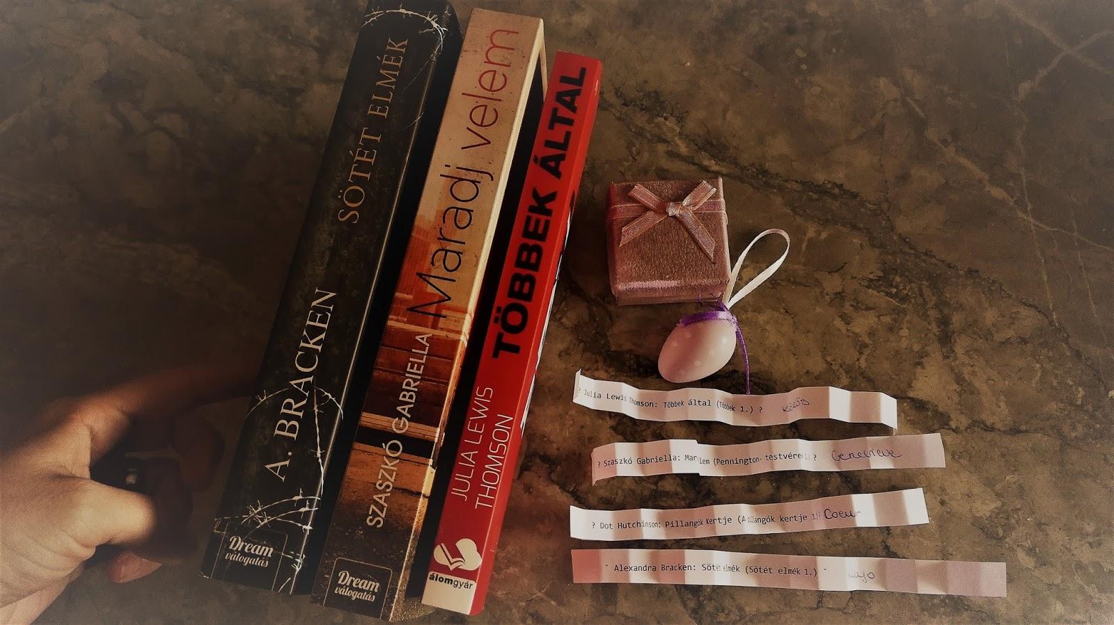 GCK's Book Review Blog TBR Jar - Április