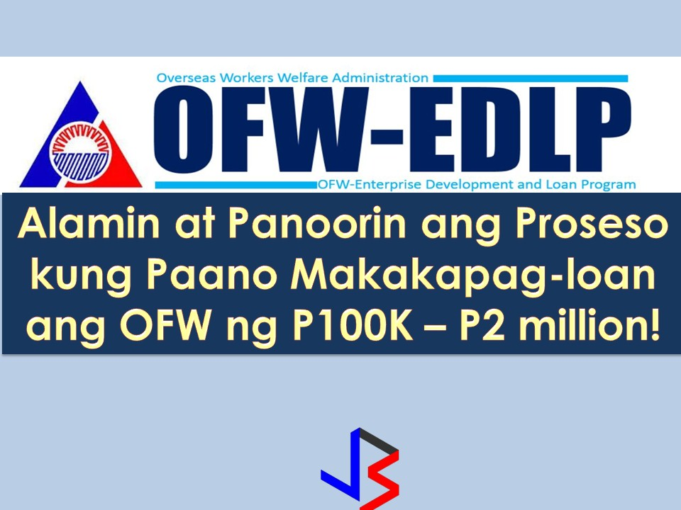 Since working abroad is not forever, Overseas Filipino Workers (OFW) or their family must invest in something that can generate income for their future.  It may be a small business or properties that will sustain a family when the time comes that OFW will eventually come home for good.  The Overseas Workers Welfare Administration (OWWA) in partnership with the Land Bank of the Philippines has a program that aims to help OFWs and their families in the establishment of viable business enterprises that will provide them with a steady income and create employment opportunities in their community.