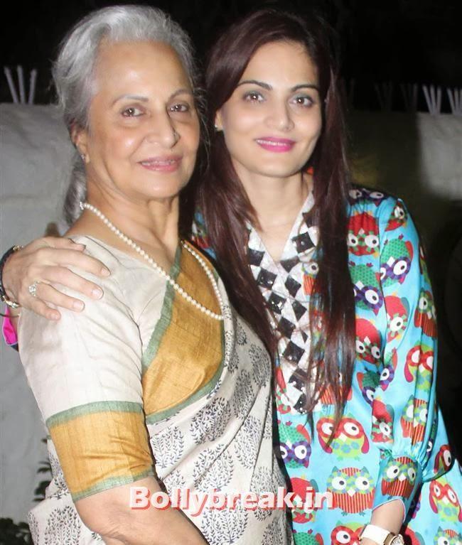Waheeda Rehman and Alvira Khan, Salman Khan's Sister Alvira Khan Store Launch