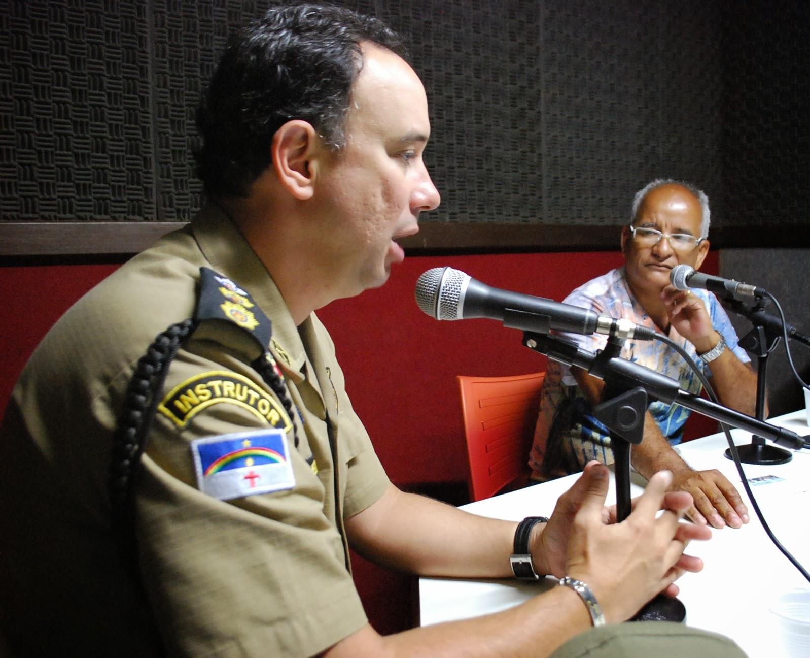 Coronel Enriqu: Novo Comandante Do 2º BPM é Entrevistado Na Alternativa FM