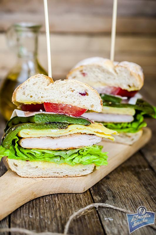 Serranito sandwich