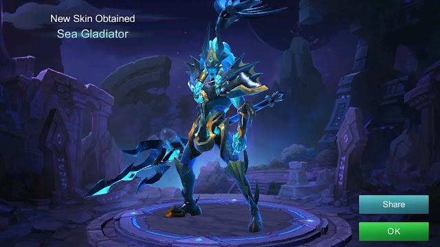 Skin Season 6: Alpha - Sea Gladiator