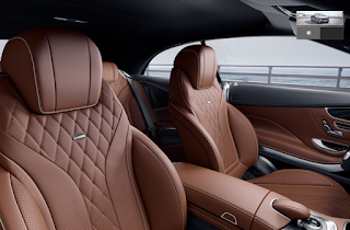 Nội thất Mercedes S500 Cabriolet 2019 màu Nâu Saddle 974