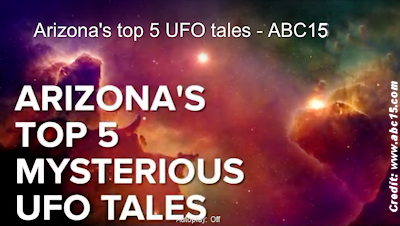 Top 5 UFO Sightings Reported Over Arizona