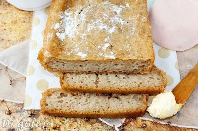 Chleb na zakwasie piekarskim i drożdżach