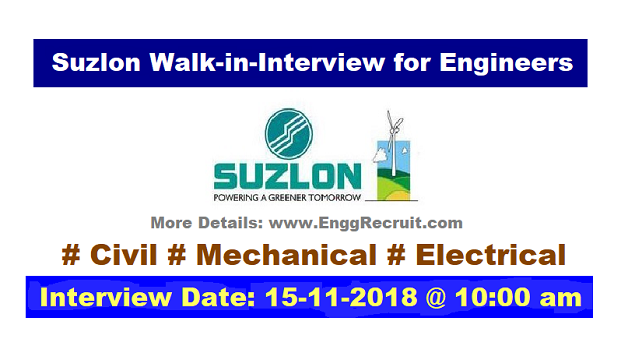 Suzlon Recruitment