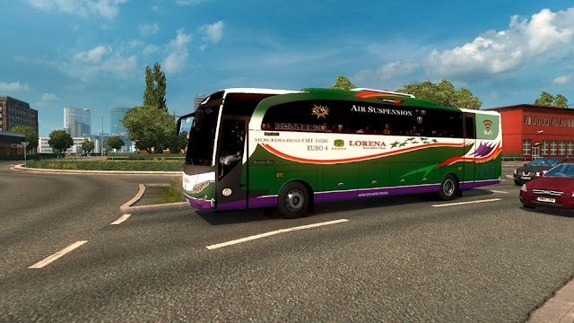 Mod Traffic JB2HD dan JBHD ets2 1.30