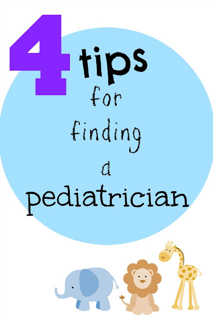 Four Tips For Finding A Pediatrician