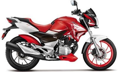 2016 Hero MotoCorp Xtreme 200S side look