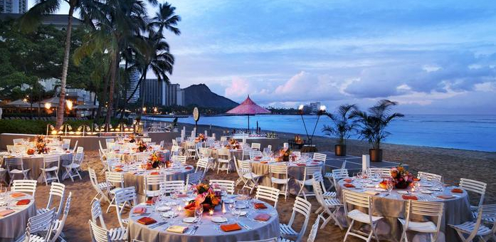 Moana Surfrider Wedding Venue