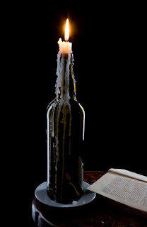 How to Make Wine Bottle Candle
