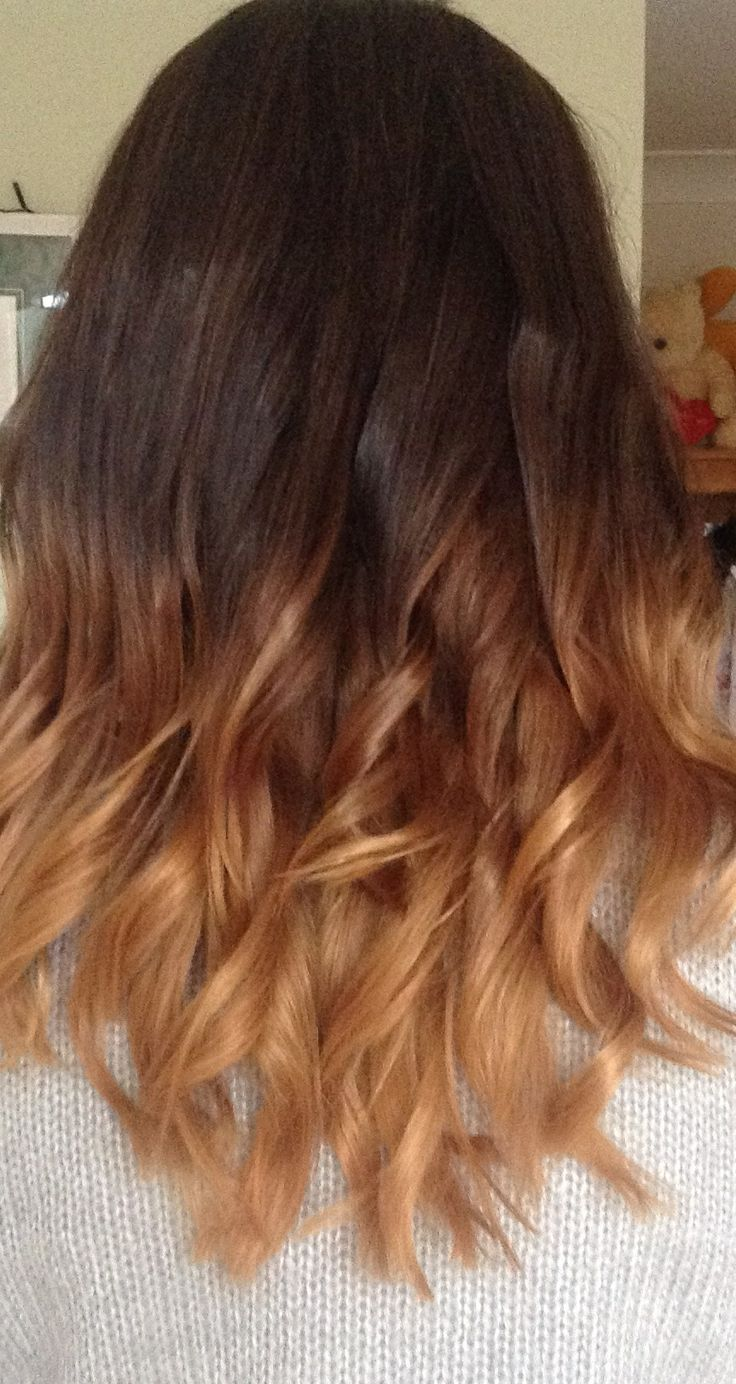Brown Dip Dyed Hair | Find your Perfect Hair Style