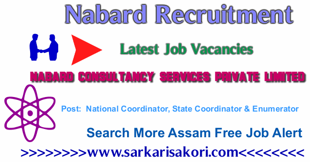 Nabard Recruitment 2017 National Coordinator, State Coordinator & Enumerator