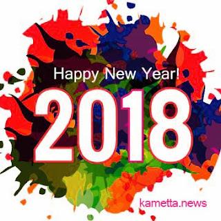 Gambar Ucapan Selamat Tahun Baru 2018 Terbaru