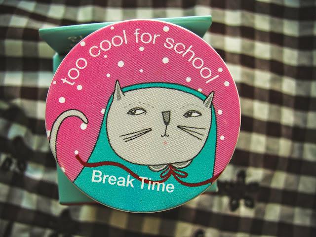 Too cool for school -  Break Time 02 свотчи и отзыв