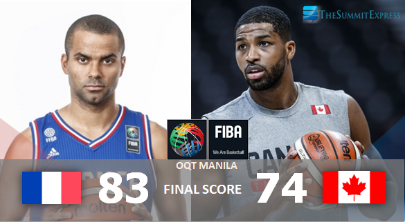 France vs Canada FIBA OQT Manila Finals