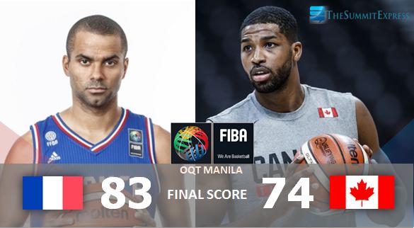 France vs Canada FIBA OQT Manila Finals