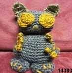patron gratis mono amigurumi, free amigurumi pattern monkey