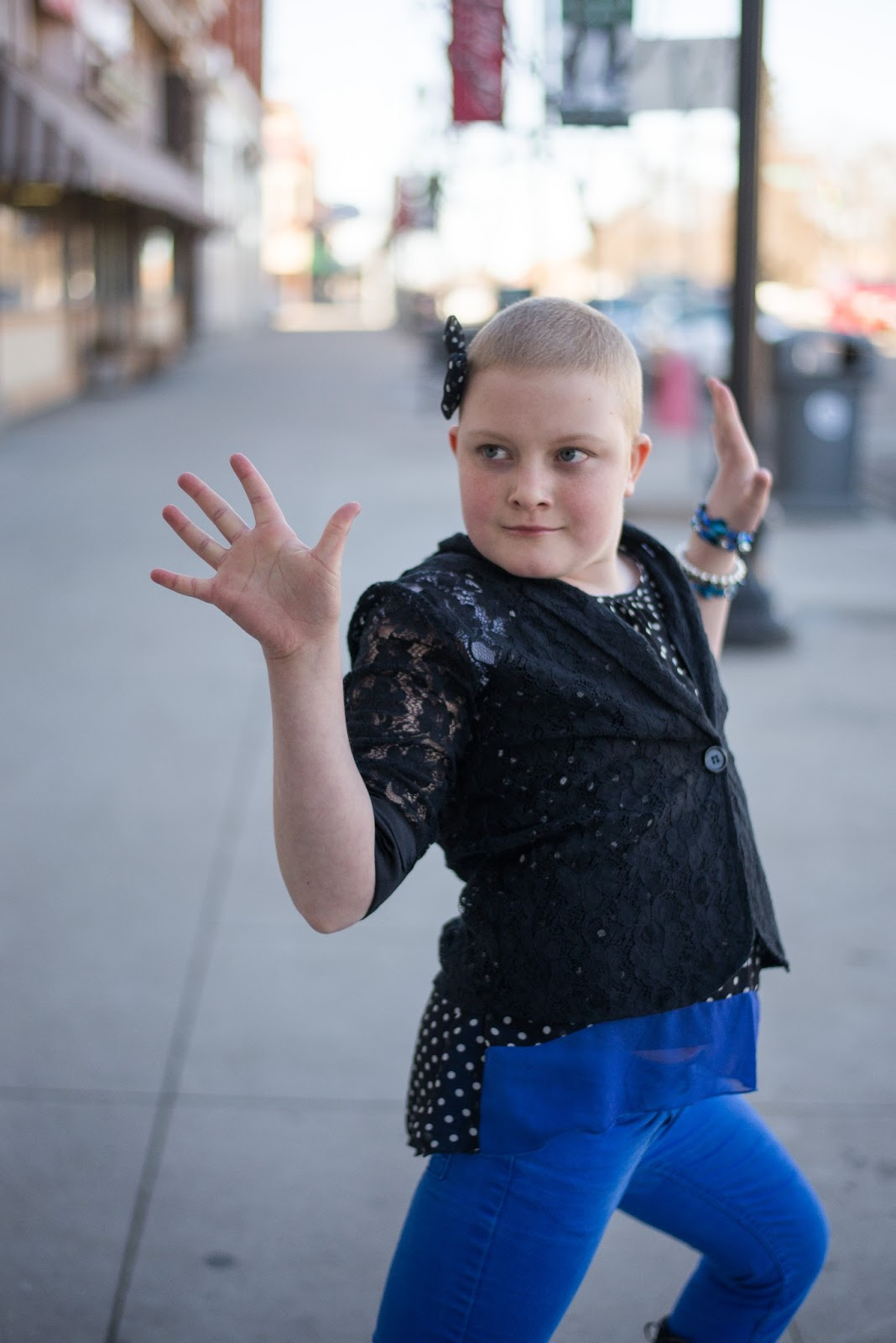 Bald Is Beautiful | Childhood Cancer Inspiration Photoshoot