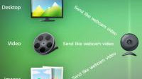 Trasmettere video, tv e riprese webcam su Skype o su internet con Splitcam