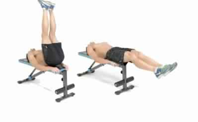 the 4 best six pack ab exercises  gym workout