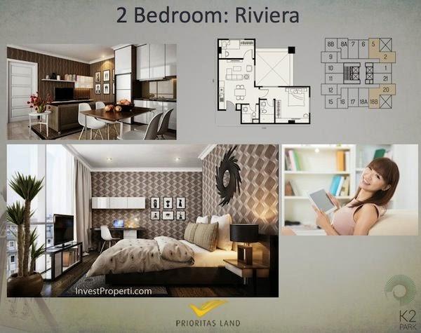 Tipe 2 BR Riviera