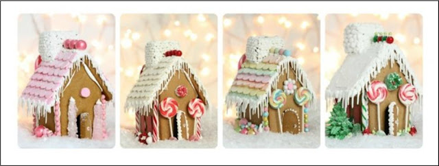 It's Written On The Wall: Christmas Gingerbread Houses