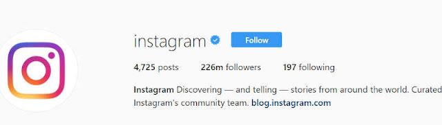 Cara mendapatkan Verifikasi akun Instagram lencana Ceklis Biru