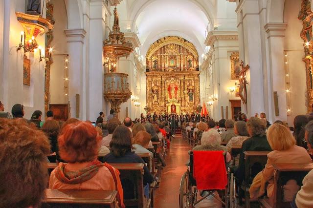 Concierto en la Iglesia Del Pilar