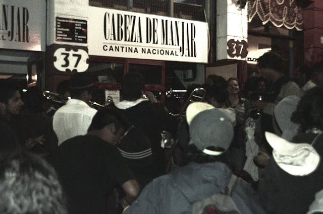 Bar Cabeza de Manjar em Valparaíso