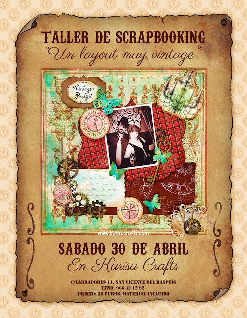 Donde apuntarse a taller de scrapbooking en Alicante
