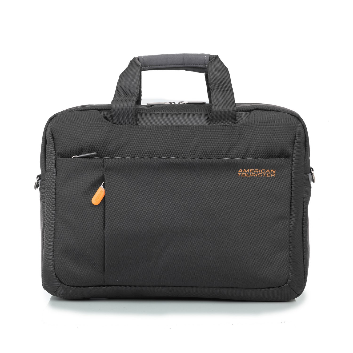 American tourister bags wallets luggage american tourister 3 way black grey office bag - American tourister office bags ...