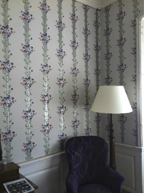 Zilmers luxury wallpapers and designs: Håndmalede tapeter og andre skønne opgaver i 2013