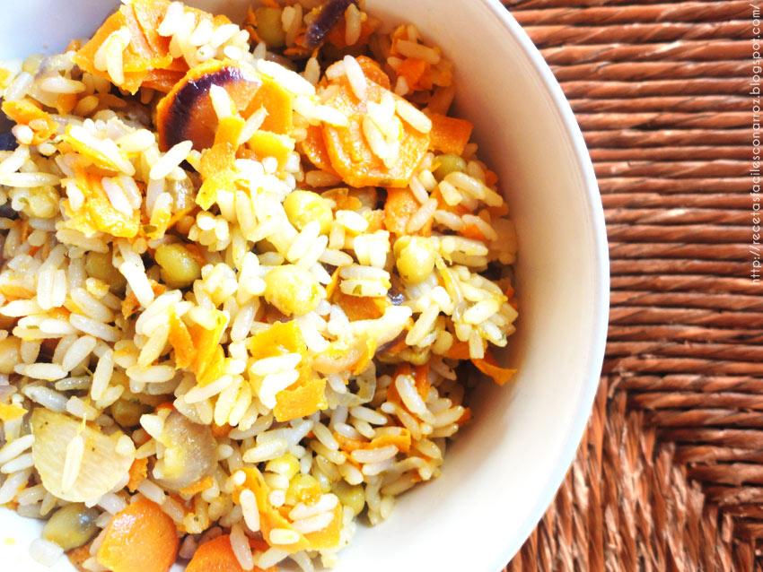 Arroz nutritivo con verduras