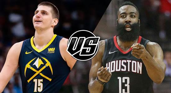 Live Streaming List: Denver Nuggets vs Houston Rockets 2018-2019 NBA Season