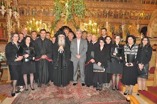 Οι εξετάσεις της Σχολής Βυζαντινής Εκκλησιαστικής Μουσικής της Ι. Μ. Καστοριάς
