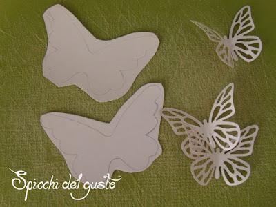 farfalle colorate per iniziativa di kreattiva