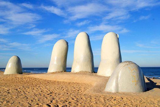 Viagem de carro alugado pelo Uruguai