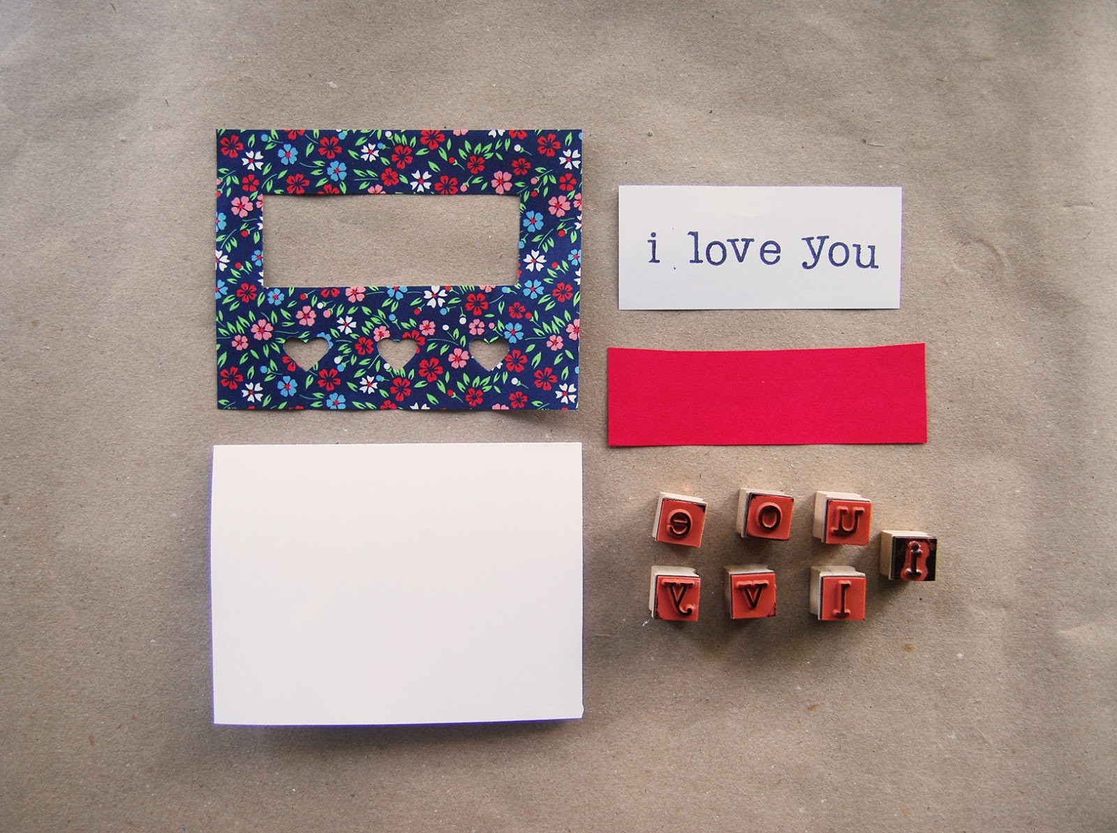 the pink doormat valentine cards with origami paper