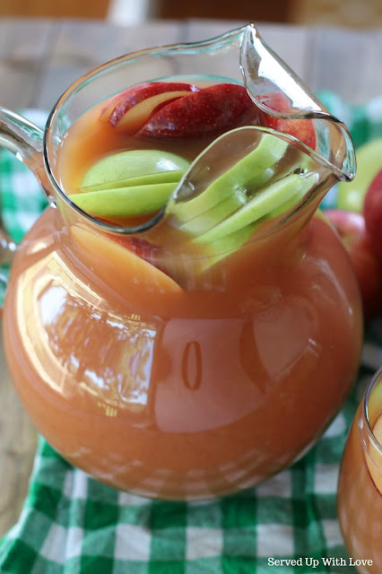 Easy Autumn Harvest Punch recipe from Served Up With Love