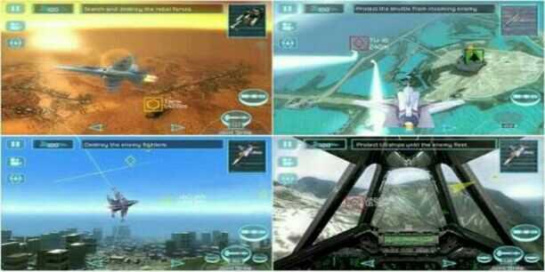Game Perang Pesawat Tempur HD Android H.A.W.X ~ [ Pilah ...