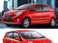 Perbedaan Toyota Agya dan Daihatsu Ayla