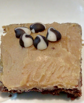 Brownie with Peanut Butter Fudge Recipe