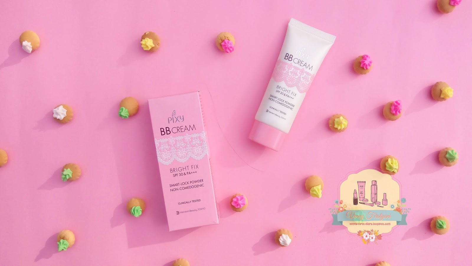 Review PIXY BB Cream Bright Fix SPF 30 Amp PA