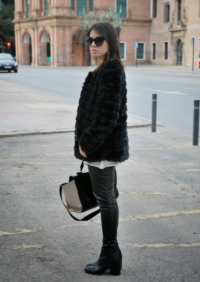Fur Coat StreetStyle